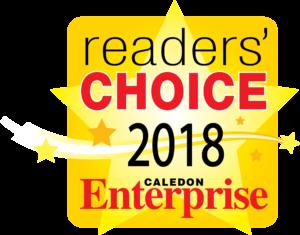 Huclack Law - Caledon Reader Choice Award 2018